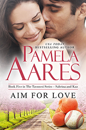 Aim for Love - The Tavonesi Series, Book 5 - by Pamela Aares