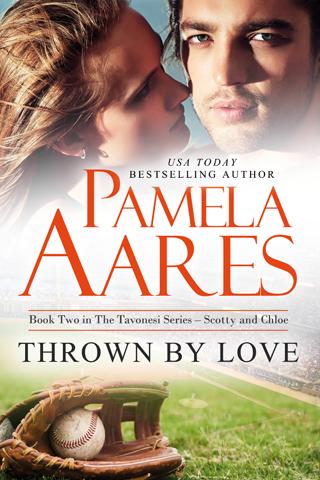 Thrown by Love (The Tavonesi Series, #2) by Pamela Aares