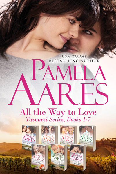 All the Way to Love - The Tavonesi Series, Books 1-7 - by Pamela Aares