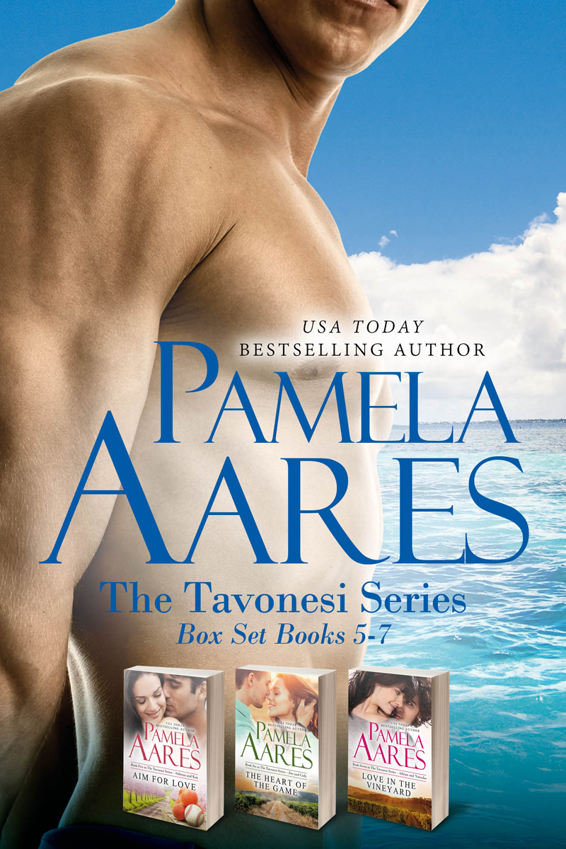 The Tavonesi Series, #5-7 Boxed Set by Pamela Aares