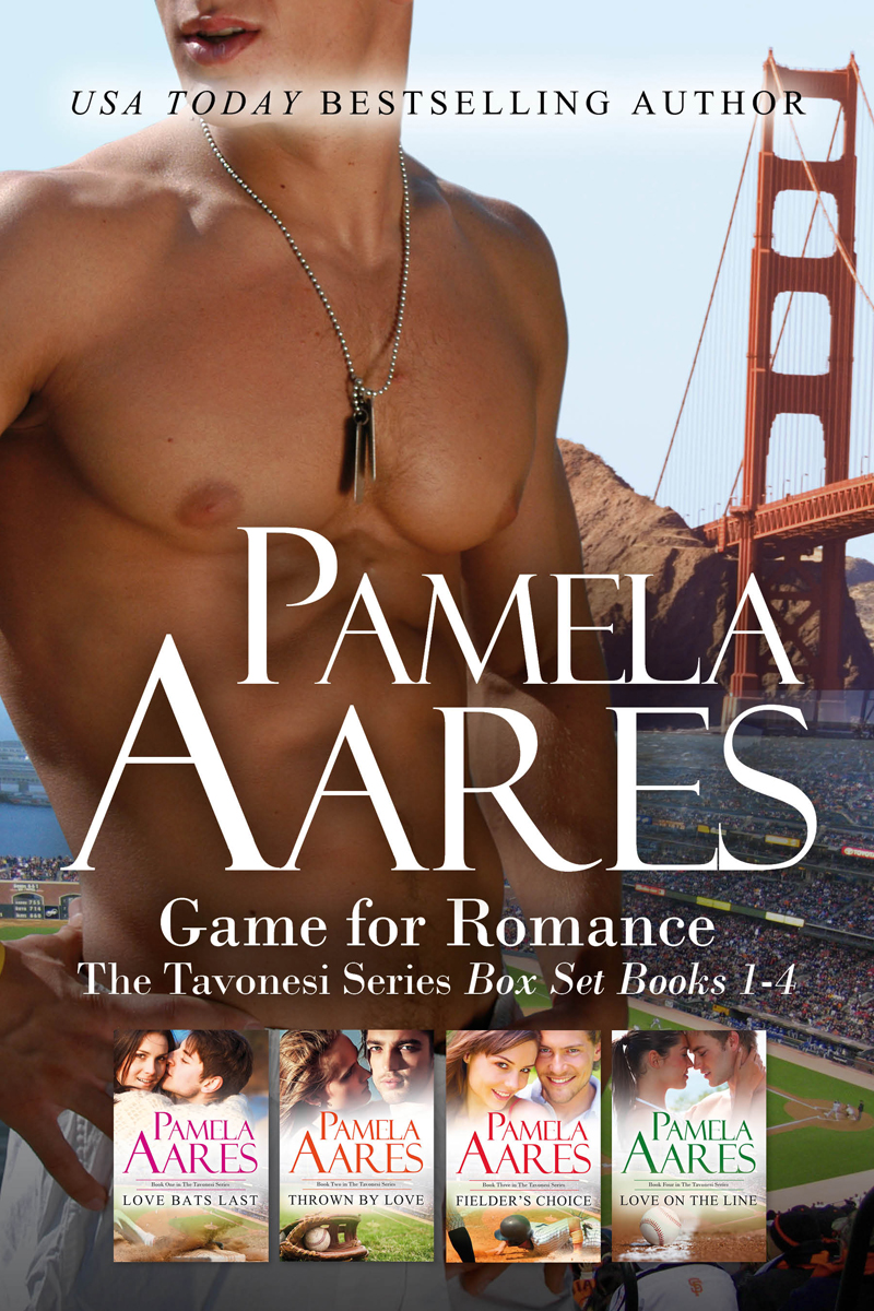 Game for Romance (The Tavonesi Series, #1-4 Boxed Set) by Pamela Aares