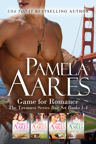 Game for Romance - The Tavonesi Series, Books 1-4 - by Pamela Aares